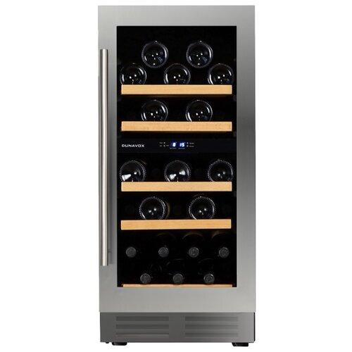 Встраиваемый винный шкаф Dunavox DAU-32.78DSS