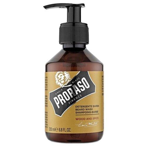 Proraso Шампунь для бороды Wood and Spice proraso шампунь для бороды
