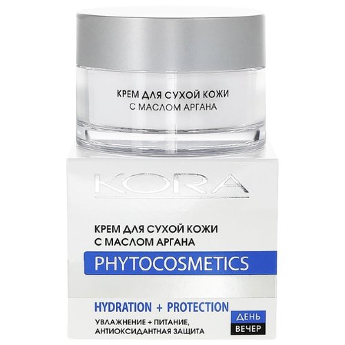 Kora Phytocosmetics Крем для сухой кожи с маслом аргана для лица, 50 мл крем kora крем для сухой кожи