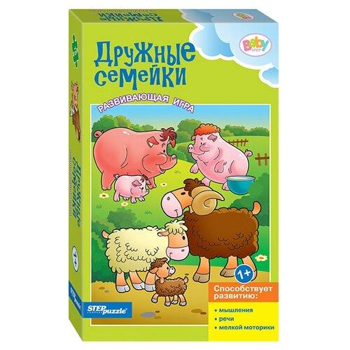 Набор пазлов Step puzzle Baby Step Дружные семейки (76182)Пазлы<br>
