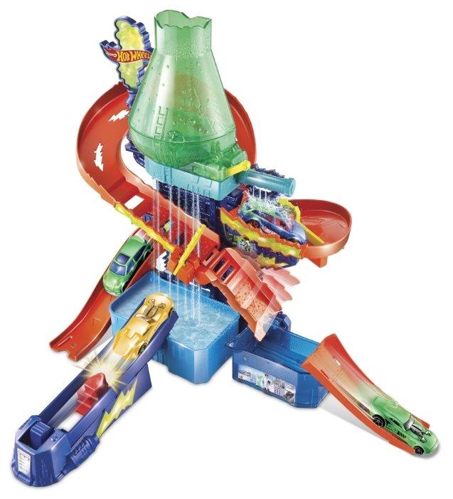 Трек Mattel Hot Wheels Color Shifters: Цветная Лаборатория CCP76