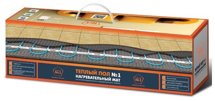 Электрический теплый пол Теплый пол №1 ТСП-150-1.0 150Вт/м2 1м2 150Вт