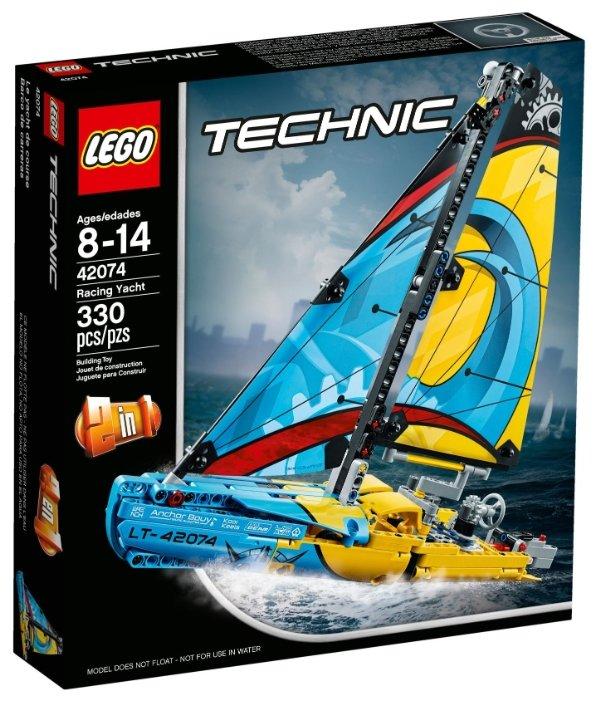 Конструктор LEGO Technic 42074 Гоночная яхта