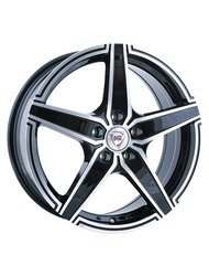 Диски R17 5x108 7J ET55 D63,3 NZ Wheels F-1 BKF - фото 1