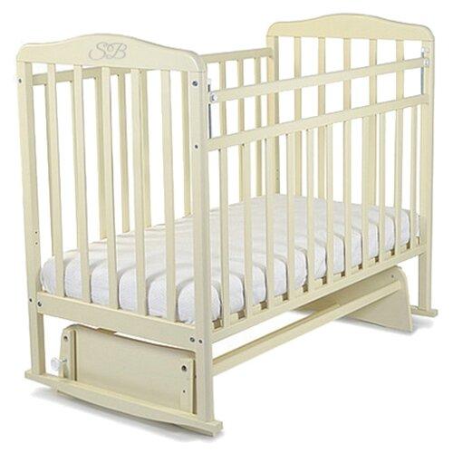 Кроватка SWEET BABY Ennio белое облакоКроватки<br>