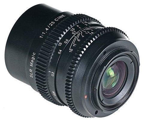 Объектив SLR Magic 25mm f/1.4 Sony E