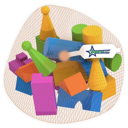 Купить Кубики Нордпласт Конструктор выдувной 403/1, Детские кубики