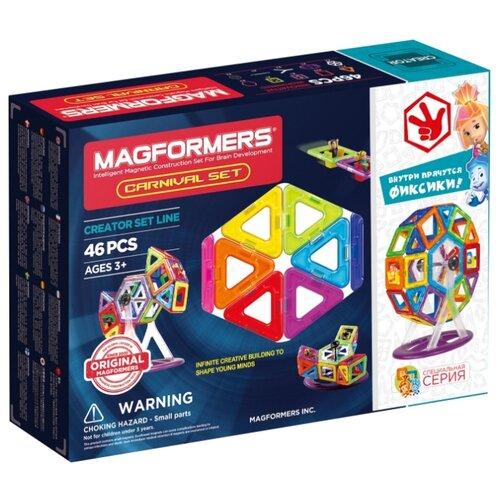 цена Магнитный конструктор Magformers 703001 Fixie Carnival Set онлайн в 2017 году