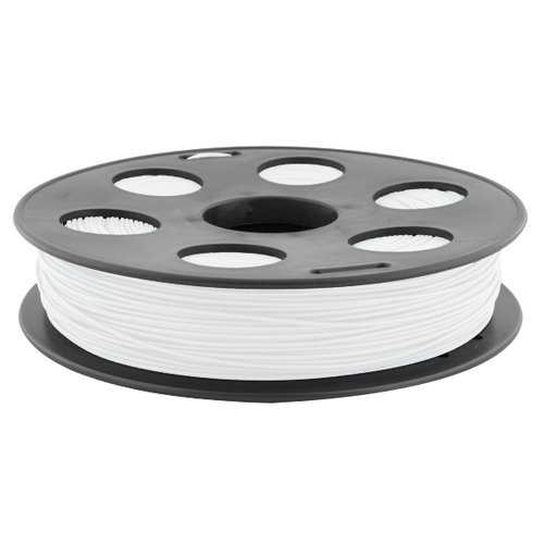 ABS пруток BestFilament 1.75 мм белый 0.5 кг  - купить со скидкой