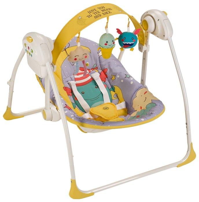 Электронные качели baby care цена