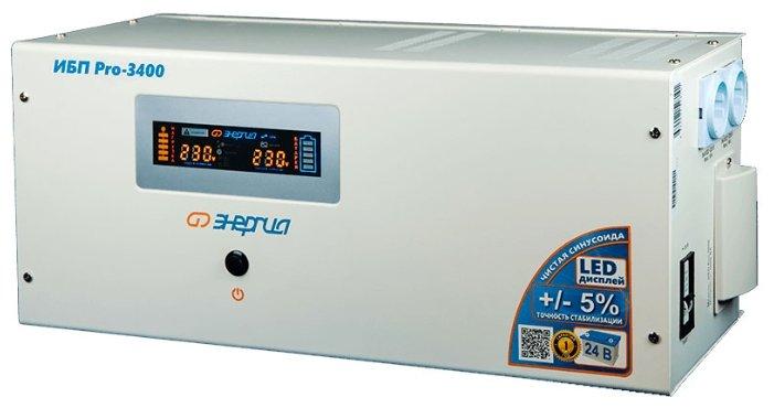 Интерактивный ИБП Энергия Pro 3400