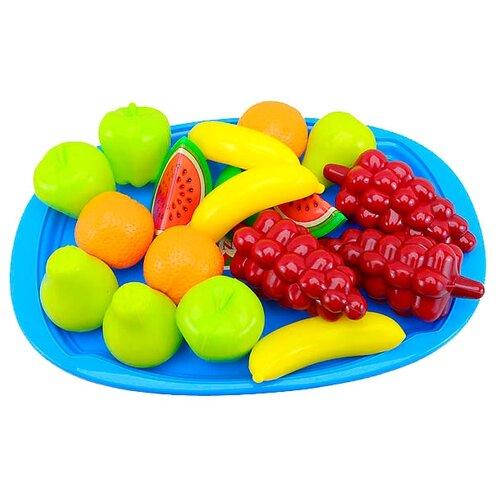 Купить Набор продуктов с посудой Orion Toys Фруктовый десерт 379в2, Игрушечная еда и посуда