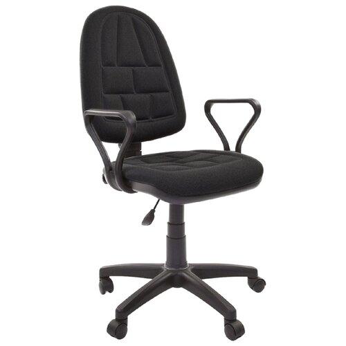 Компьютерное кресло Chairman PRESTIGE ERGO офисное, обивка: текстиль, цвет: C-3 черный
