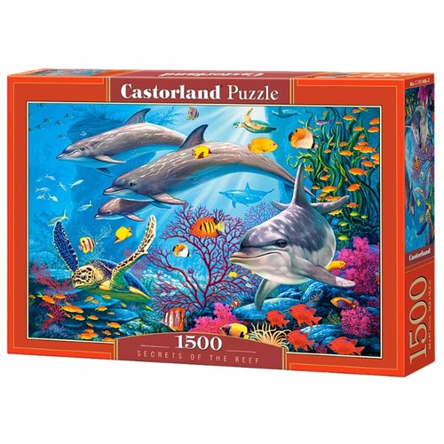 Пазл Castorland Secrets of the Reef (C-151486), 1500 дет.