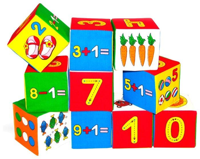 Кубики Мякиши Умная Математика