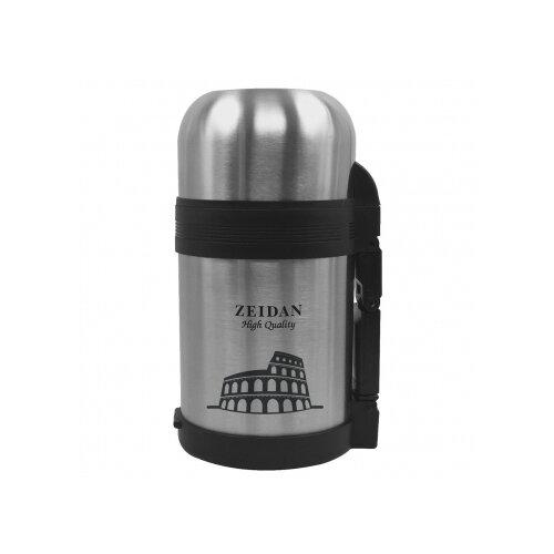 Термос для еды Zeidan Z9042, 0.6 л серебристый