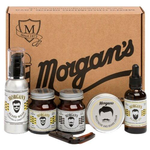 Купить Morgan's Набор для бороды и усов Moustache & Beard Gift Set