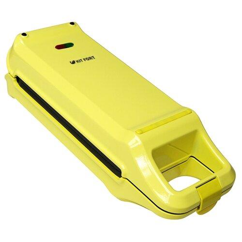 Вафельница Kitfort КТ-1611 желтый
