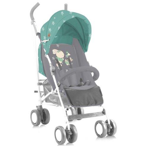 Прогулочная коляска Lorelli Fiesta (с накидкой) grey/green bunniesКоляски<br>