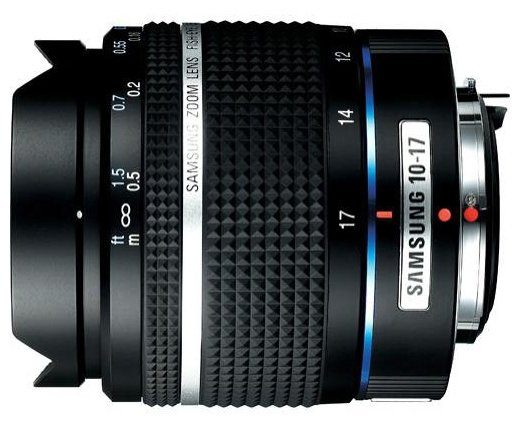Объектив Samsung D-XENOGON 10-17mm f/3.5-4.5 ED Fish Eye (EZ-DLENS021/E1)