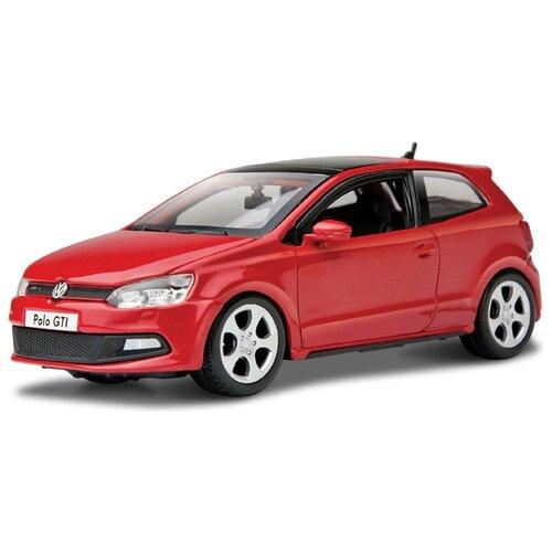 Купить Легковой автомобиль Bburago Volkswagen Polo (18-21059) 1:24 17 см красный, Машинки и техника
