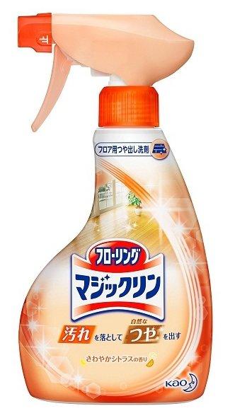Kao Спрей-пенка для чистки пола с цитрусовым ароматом