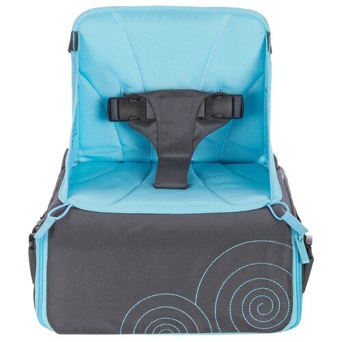 Сумка-стул Munchkin Travel Booster Seat серый/голубойСтульчики для кормления<br>