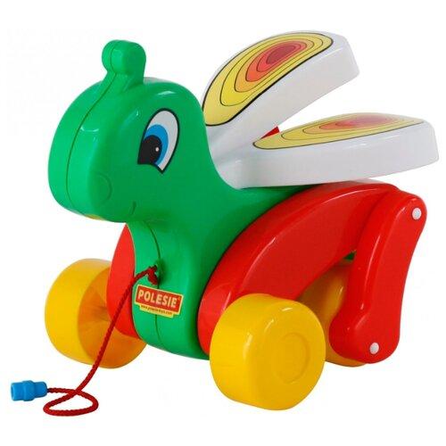 Каталка-игрушка Cavallino Сверчок (56436) зеленый/красный недорого