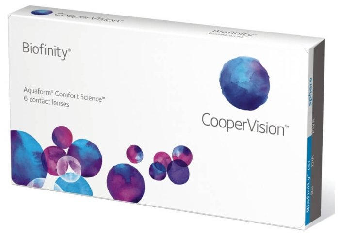 CooperVision Biofinity (6 линз)