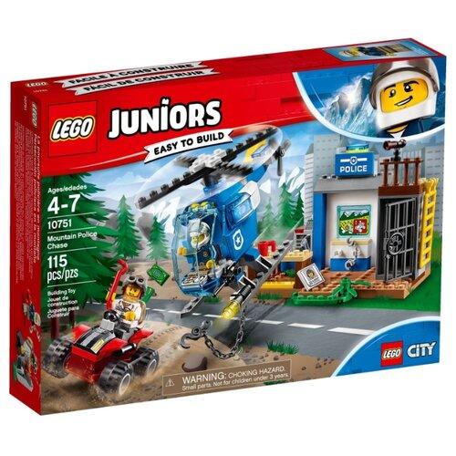 Купить Конструктор LEGO Juniors 10751 Погоня горной полиции, Конструкторы