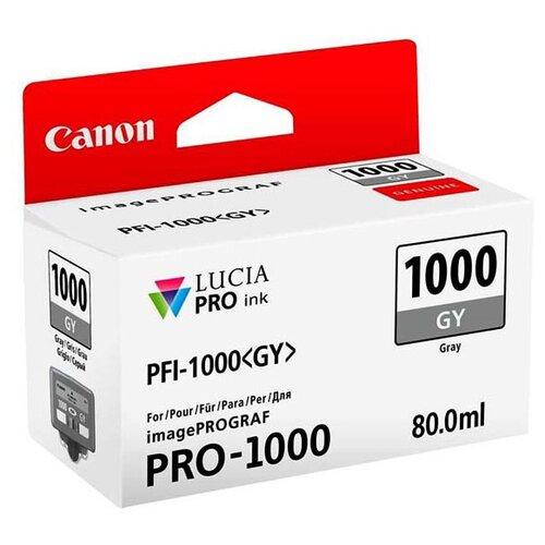 Фото - Картридж Canon PFI-1000GY (0552C001) canon pfi 107 y