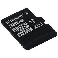 Kingston SDCS/32GB (microSDHC 32Gb class 10 UHS-I + SD adapter) - Карта флэш-памяти