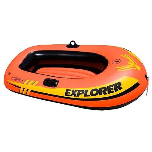 Купить Надувная лодка Intex Explorer 100 58329 оранжевый, Надувные игрушки