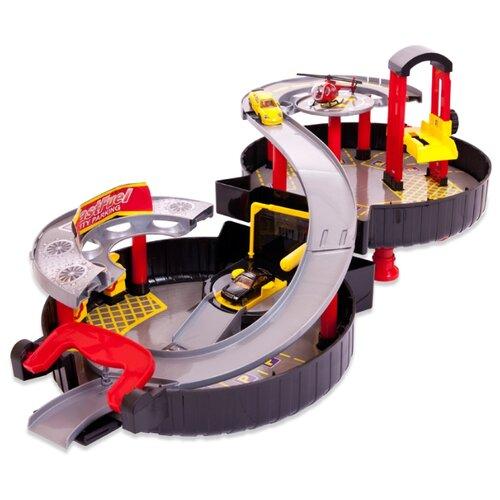 Купить ABtoys Авто Сити: Городская парковка PT-00546 черный/серый/красный/желтый, Детские парковки и гаражи