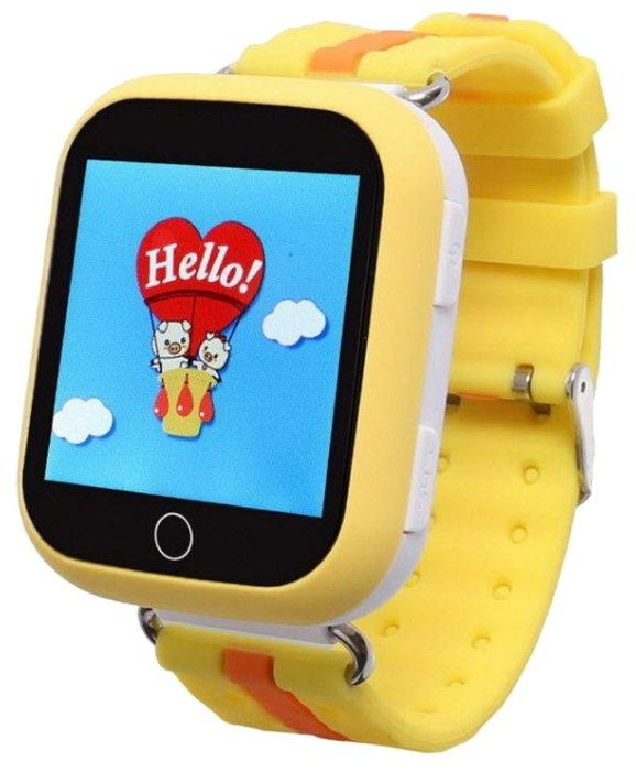 Часы Smart Baby Watch Q100 / GW200S желтый