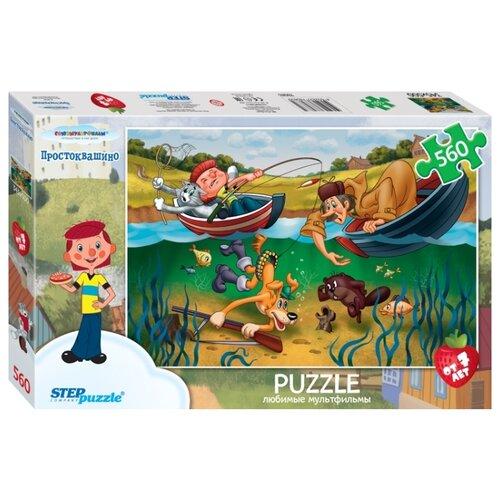 Купить Пазл Step puzzle Союзмультфильм Простоквашино (78083), 560 дет., Пазлы