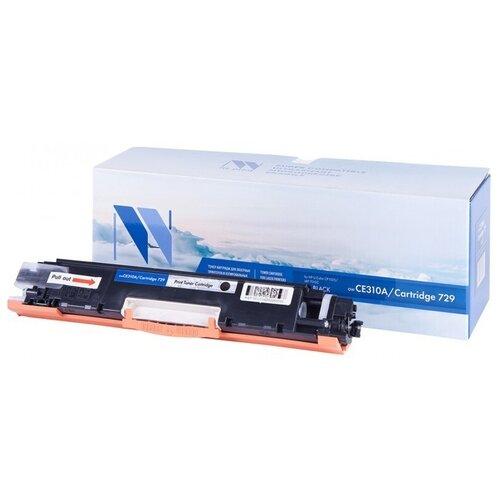 Фото - Картридж NV Print CE310A/729 Black для HP и Canon, совместимый картридж nv print q6473a 711 magenta для hp и canon совместимый