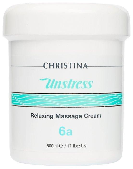 Christina Unstress Relaxing Massage Cream Расслабляющий массажный