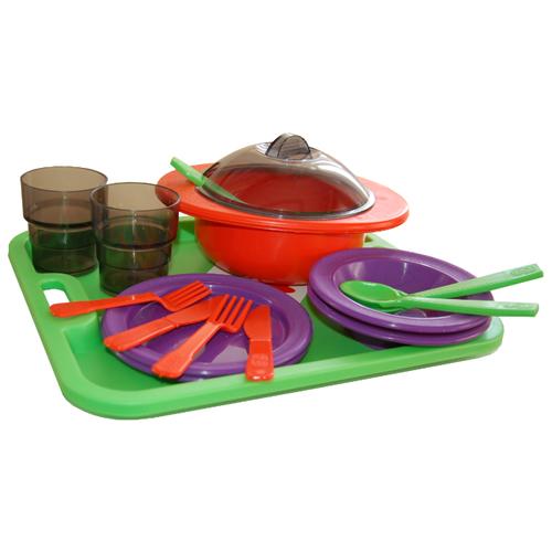 Набор посуды ОГОНЁК Столовый С-283, Игрушечная еда и посуда  - купить со скидкой