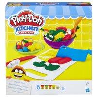 Масса для лепки Play-Doh Приготовь и нарежь на дольки (B9012)
