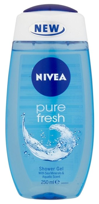 Гель для душа Nivea Pure fresh