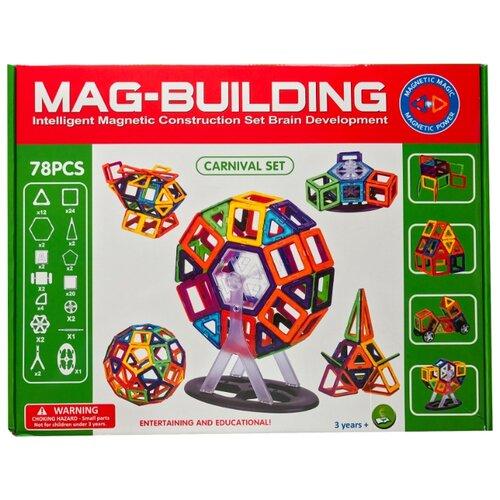 Купить Магнитный конструктор Mag-Building Carnival GB-W78, Конструкторы