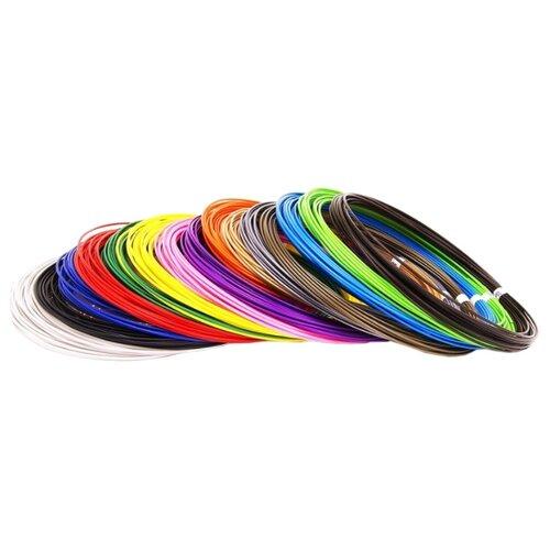 PLA пруток Мастер Пластер 1.75 мм 14 цветов 0.38 кг