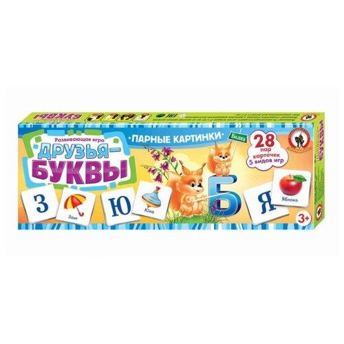 цена на Настольная игра Русский стиль Друзья-буквы