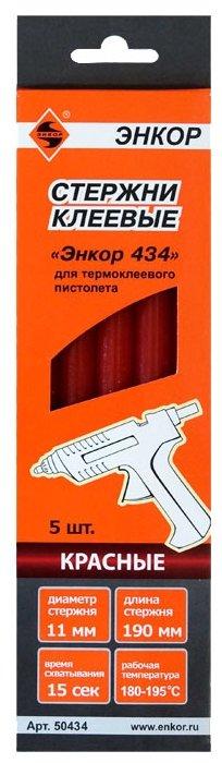Энкор Стержни клеевые «Энкор 434» 11x190 мм, 5 шт