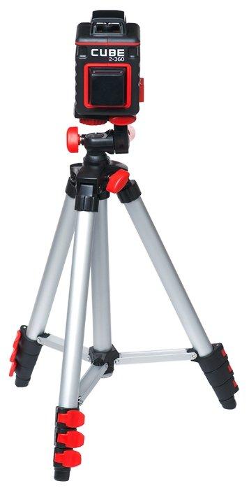 Лазерный уровень ADA instruments CUBE 2-360 Professional Edition (А00449) со штативом