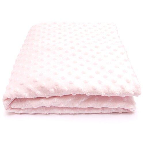 Купить Плед Сонный Гномик Горошек 90х90 см нежно-розовый, Покрывала, подушки, одеяла