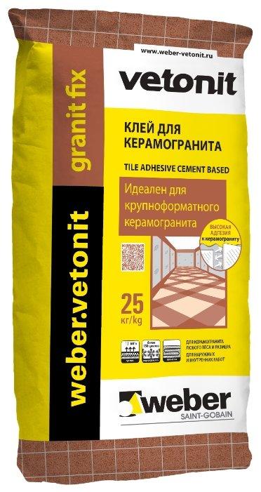Клей Weber Granit Fix 25 кг