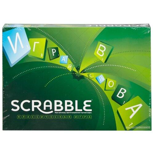 Настольная игра Mattel Scrabble Y9618 игра настольная mattel games mattel games mp002xg00ogy
