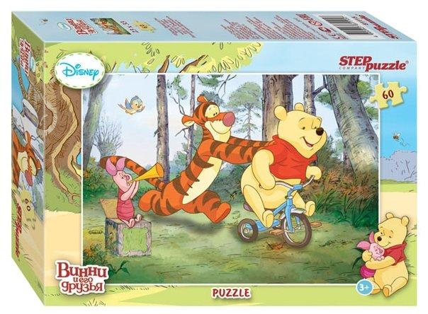 Пазл Step puzzle Disney Медвежонок Винни (81115), 60 дет.
